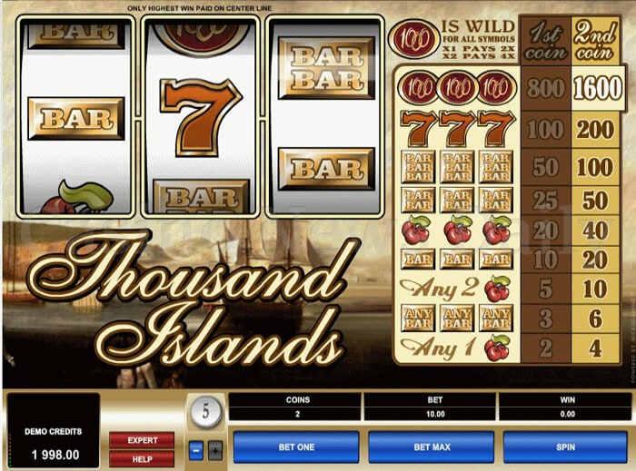 Thousand Islands Online Slot