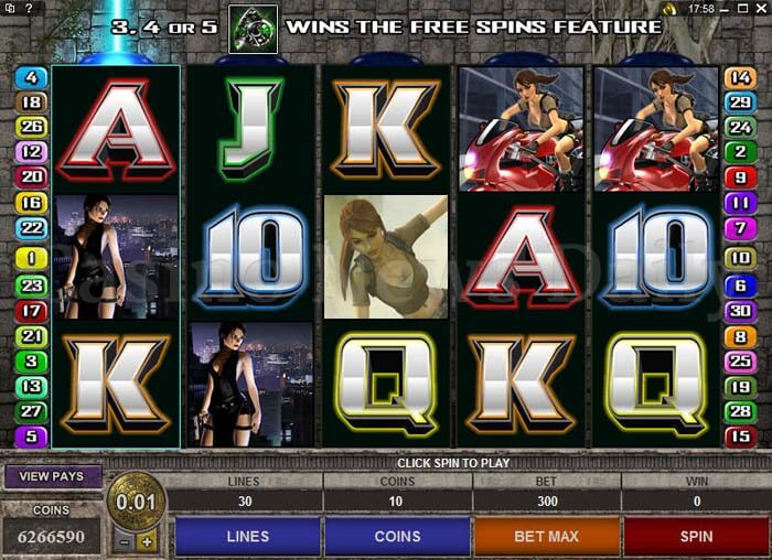 Tomb Raider - Secret of the Sword Online Slot