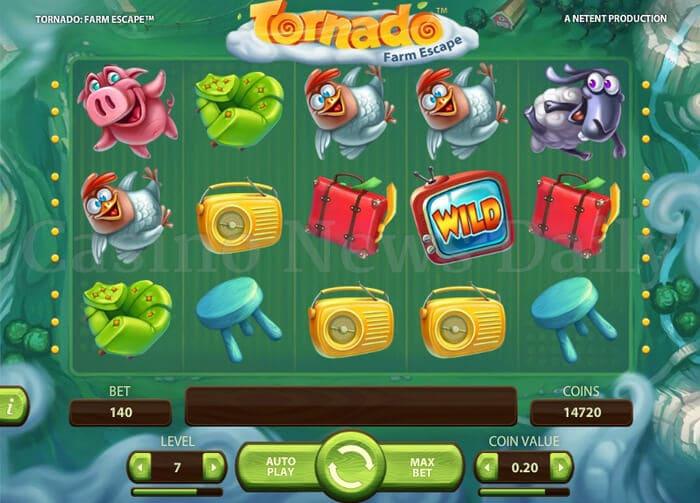 Tornado: Farm Escape Online Slot