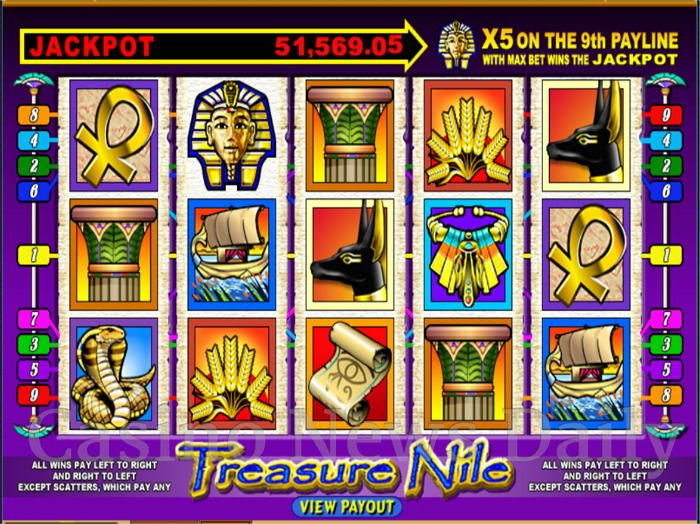 Treasure Nile Online Slot
