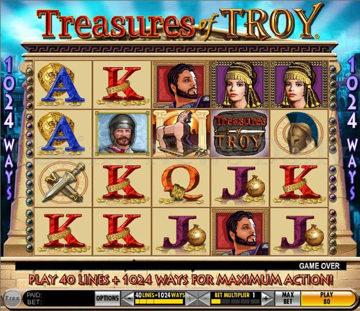 Treasures of Troy Slot igt