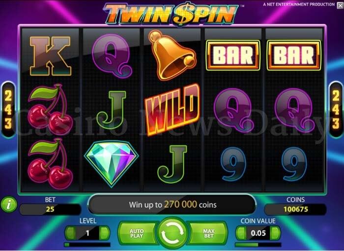 Twin Spin Slot netent