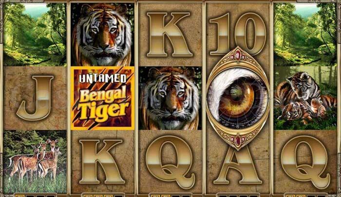 Untamed Bengal Tiger Slot microgaming