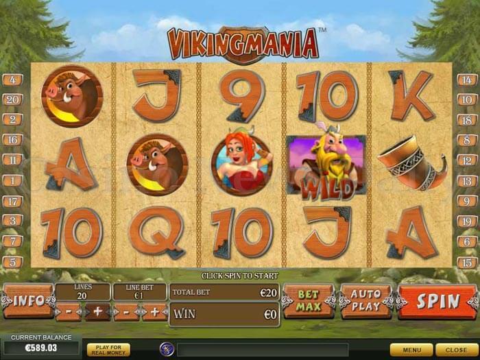 Viking Mania Slot playtech
