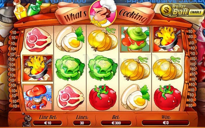 What's Cooking Slot playtech