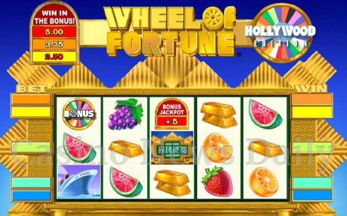 Wheel of Fortune Hollywood Edition Online Slot