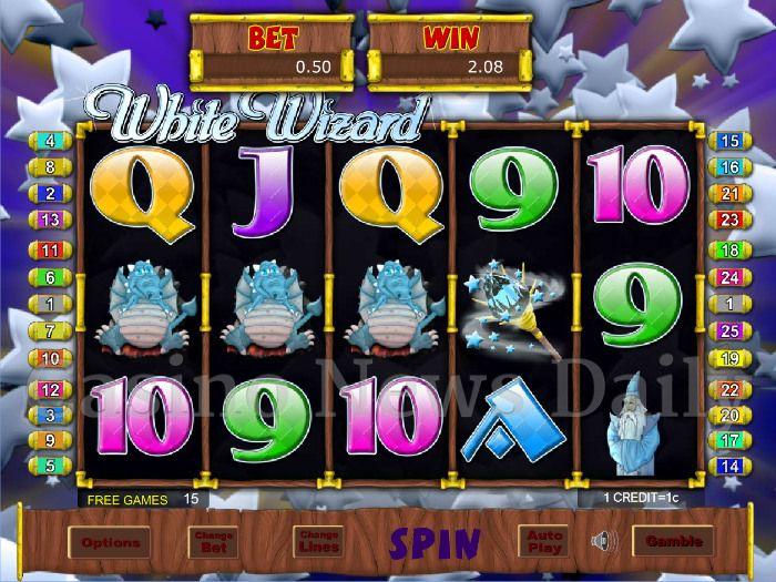 White Wizard Online Slot