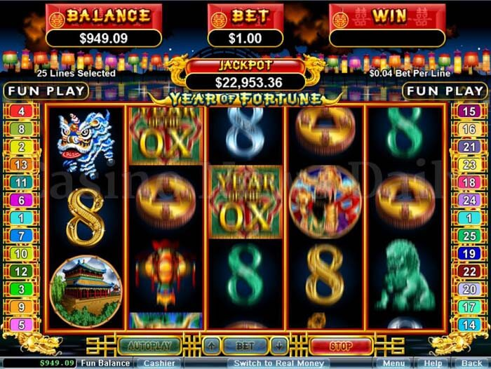 Year of Fortune Online Slot