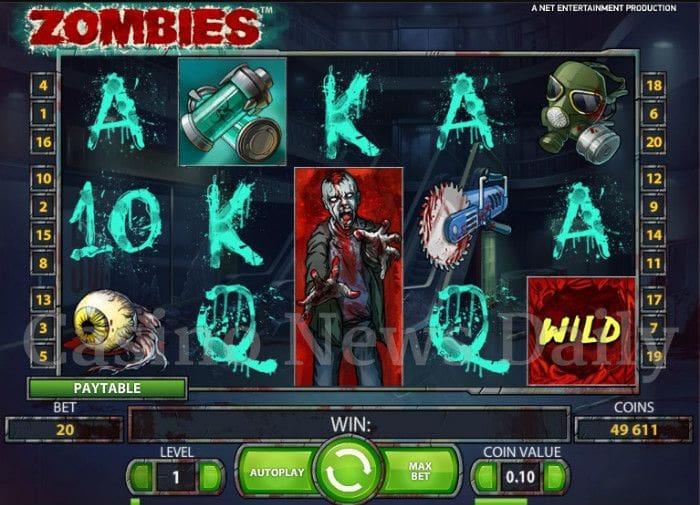Zombies Online Slot