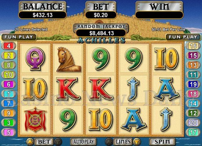 Achilles Online Slot