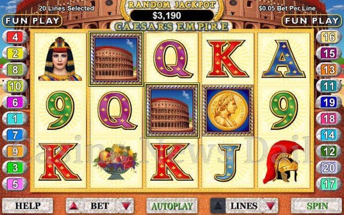 Caesar's Empire Online Slot