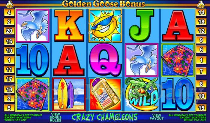 Crazy Chameleons Online Slot
