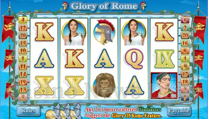 Play Rome & Glory online slots at Casino.com