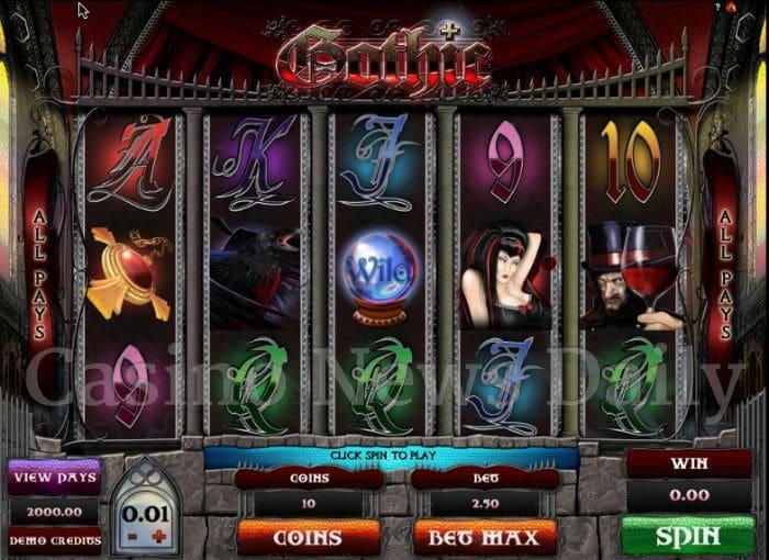 Gothic Online Slot