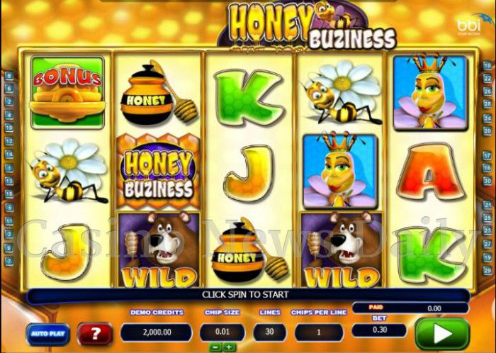 Honey Buziness Online Slot