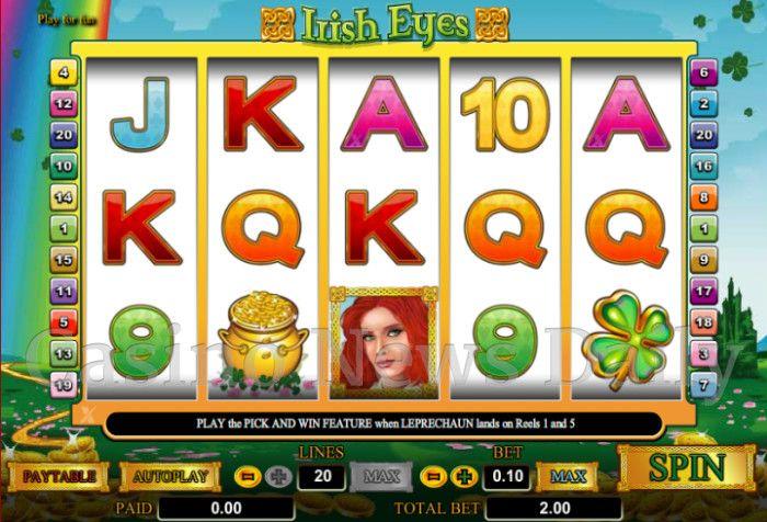 Irish Eyes Online Slot