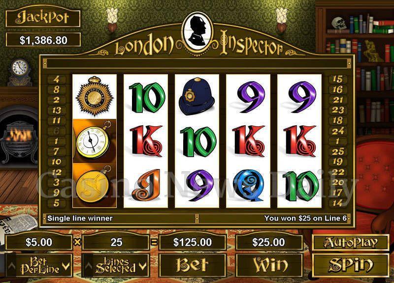 London Inspector Online Slot
