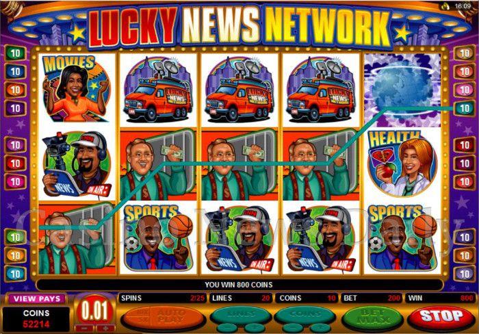 Lucky News Network Online Slot
