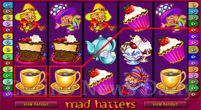 Mad Hatters Online Slot