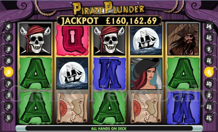 Pirate Plunder Slot