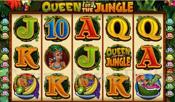 Queen of the Jungle Online Slot