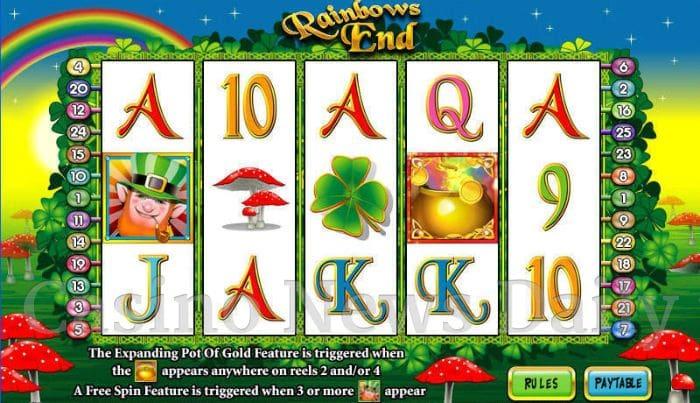 Rainbows End Online Slot
