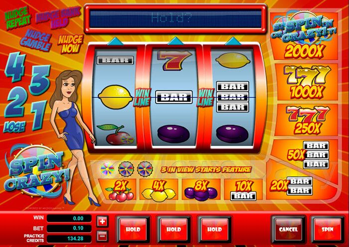 Spin Crazy Slot