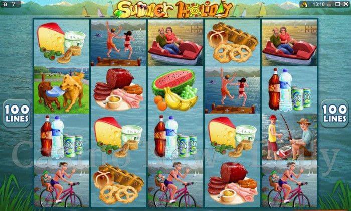 Summer Holiday Online Slot