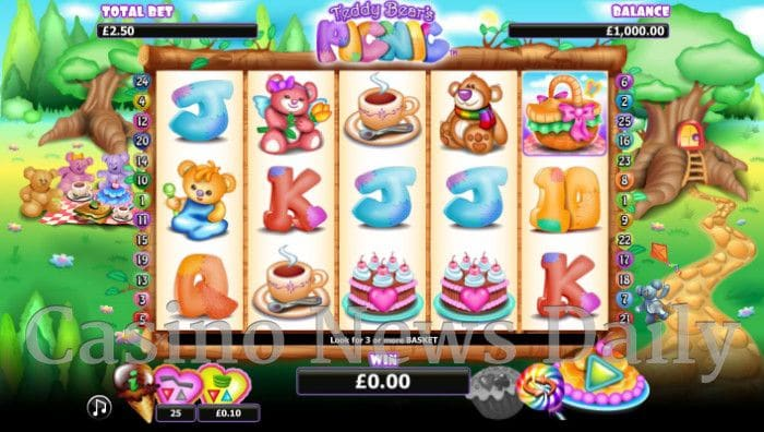 Teddy Bear's Picnic Online Slot