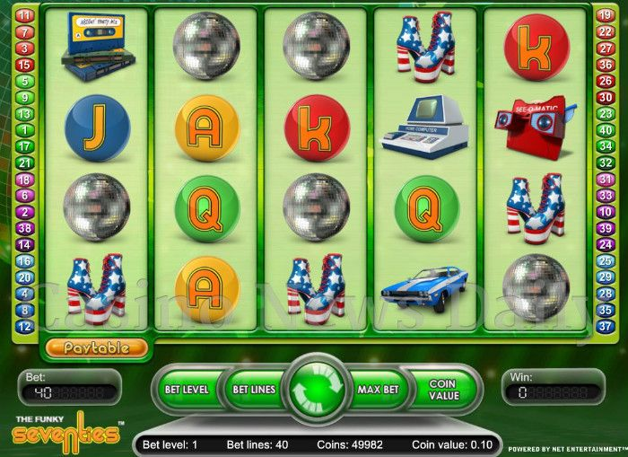 The Funky 70s Online Slot