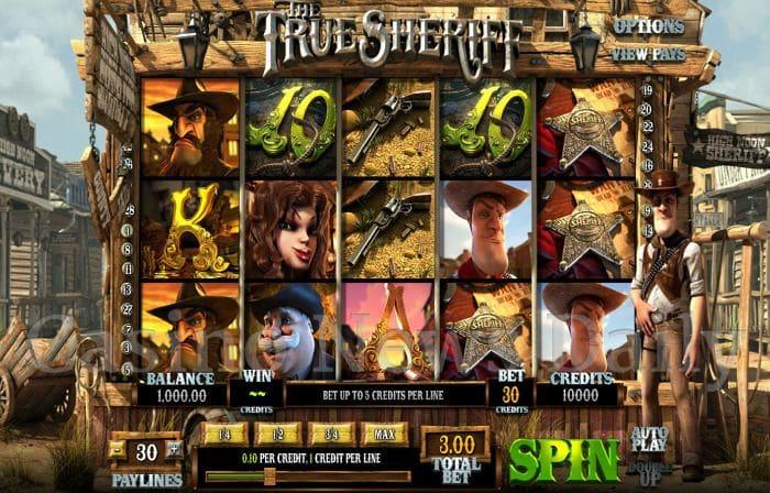 The True Sheriff Online Slot