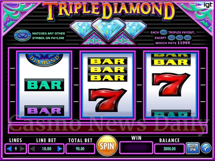 Free Triple Diamond Slots