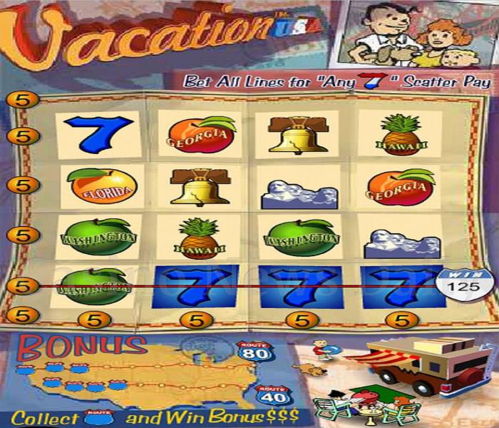 Vacation USA Online Slot
