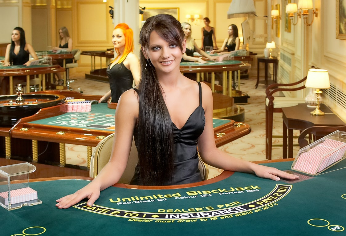 blackjack odds in a casino
