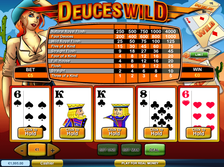 online casino games jacks or better