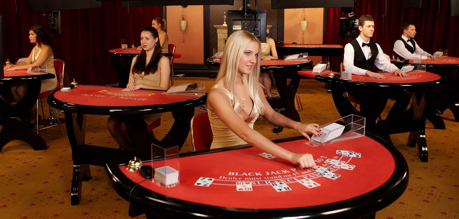 blackjack dealer jobs