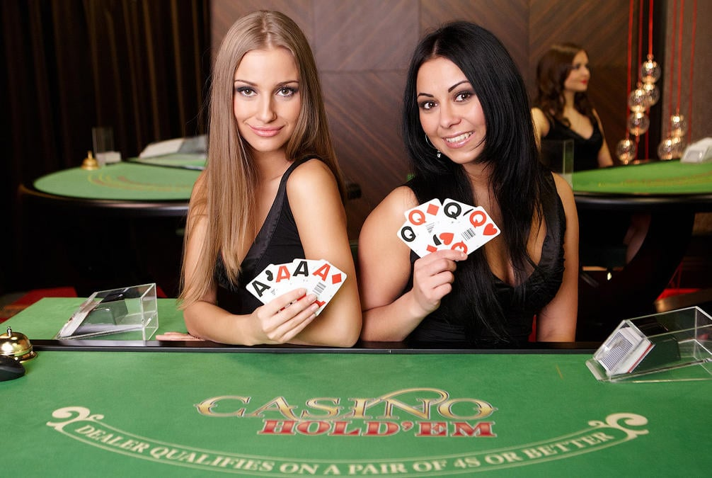 Live Casino Dealers Hold'em Poker