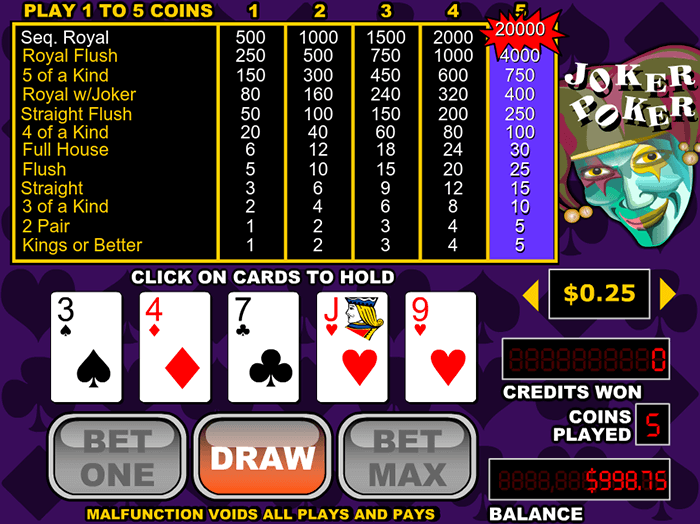 Casino joker royal free online casino games play money