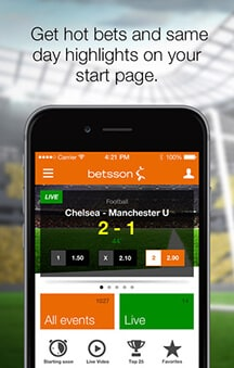 Betsson mobile betting apps sports betting ncaa basketball