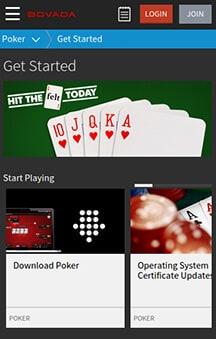 Bovada poker download ipad