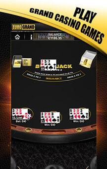 eurogrand casino app