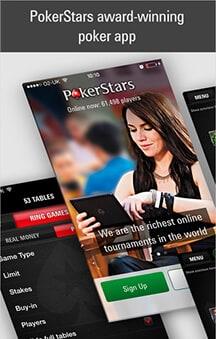 pokerstars online casino app