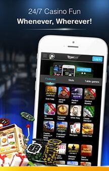 Titanbet mobile betting betting soccer transfers 2021-2021