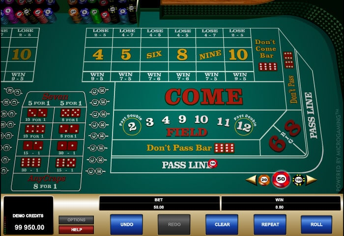 Best Bet In Craps