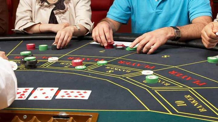 people playing baccarat
