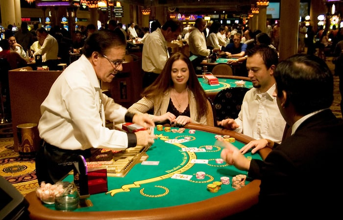 Playing Blackjack In Vegas