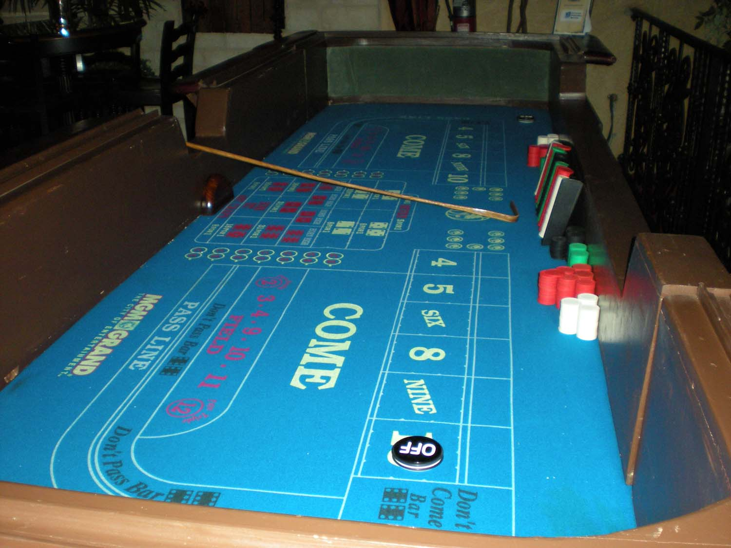 How To Play Craps Table