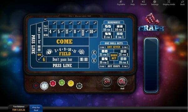 mobile casino craps