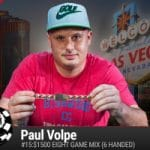 Paul Volpe Wins 2016 WSOP $1,500 Eight-Game Mix (Six-Handed)