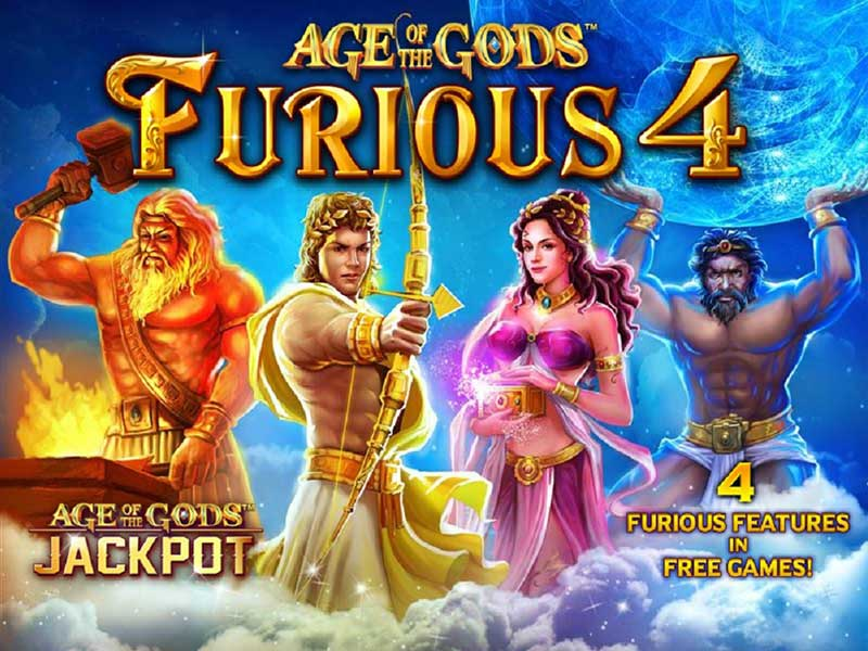Play Age of Gods Slot at Casino.com ZA
